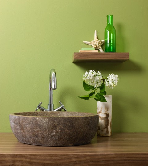 Basin floating counter tops