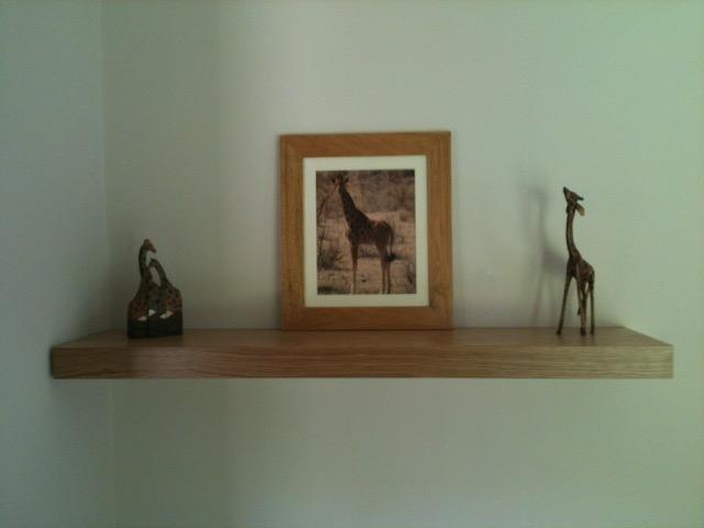 oak shelf 1