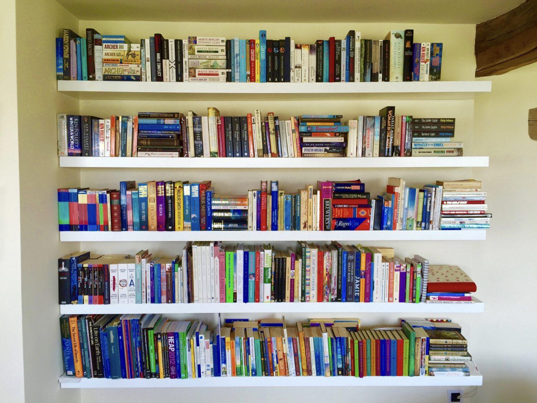 White Floating Shelves Bespoke Nature